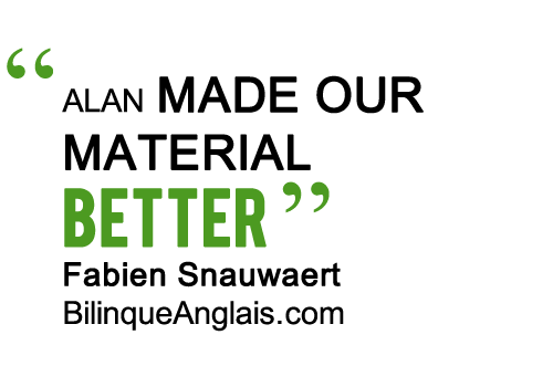 ALAN MADE OUR MATERIAL BETTER
